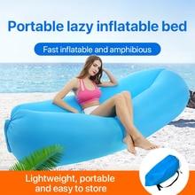 Recliner-Cushion-Chair Outdoor Inflatable Beach Camping Sofa for Backyard Lakeside/Beach/Travel/..