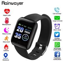 Смарт-браслет, часы, водонепроницаемые, измерение артериального давления, фитнес-трекер, пульсометр, шагомер, умный Браслет, A2