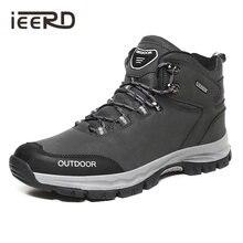 Уличные мужские ботинки ieerd зимние для мужчин большие размеры