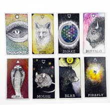 Espírito animal tarot familiars cartas jogo de tabuleiro baralho espanhol adivinhação jogo