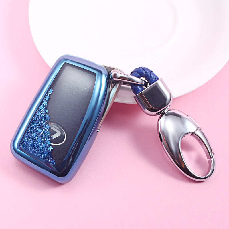 Quicksand TPU Car Key Cover Case For Lexus NX GS RX IS ES GX LX RC 200 250 350 LS 450H 300H Key Case keychain key Accessories image