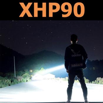 Najbardziej potężny XHP90 LED latarka usb ładowalna latarka latarka z regulacją wiązki światła XHP70 2 latarka LED tarkawodoodpornal 18650 baterii tanie i dobre opinie POCKETMAN 2-4 plików Ze stopu aluminium ze stopu aluminium Wysoka średnim niskie Odporny na wstrząsy Twarde Światło
