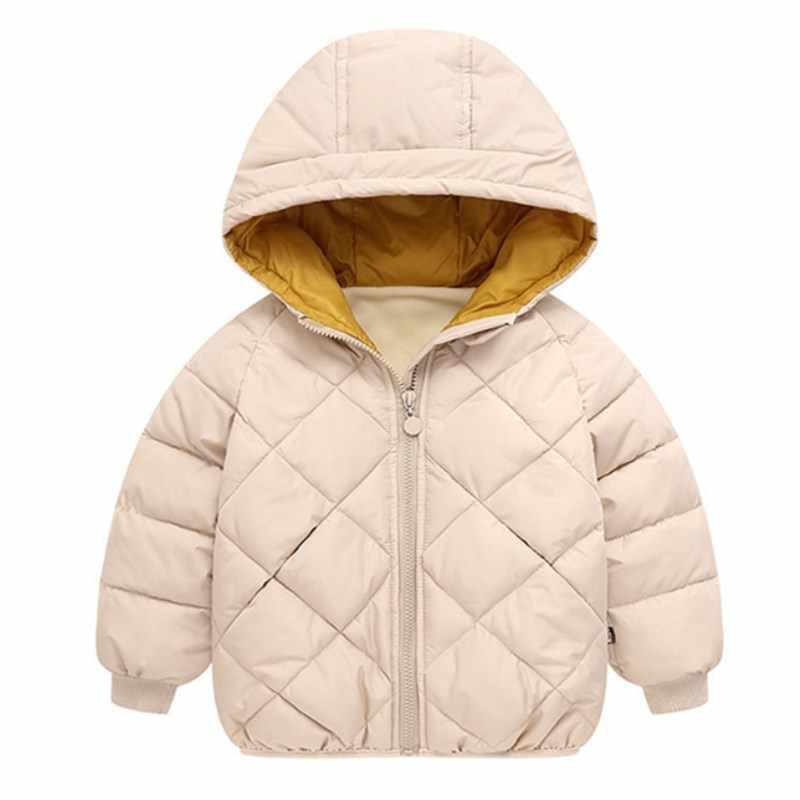 Bebek Kız Giysileri, Çocuk Kış uzun kollu Sıcak Ceket ve Dış Giyim, kız Pamuk yastıklı Dış Giyim Bebek Kız Ceket Yılbaşı