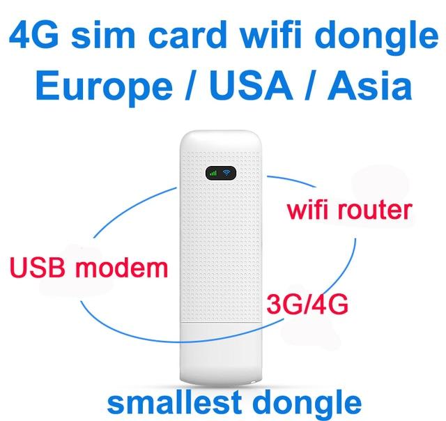 LDW922 3G/4G 와이파이 라우터 모바일 휴대용 무선 LTE USB 모뎀 동글 나노 SIM 카드 슬롯 포켓 핫스팟
