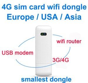 Image 1 - LDW922 3G/4G WiFi роутер мобильный портативный беспроводной LTE USB модем dongle nano SIM карта слот карманный хот спот