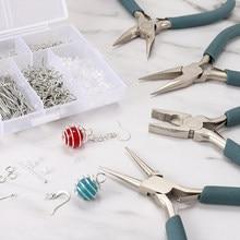 12 types de personnalisation Exclusive de haute qualité en acier inoxydable fin coupe fil pinces outils à main bijoux à bricoler soi-même faisant des pinces ensemble