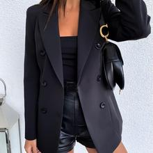 2019 Women Slim Fit Casual Formal Business Blazer Suit Work