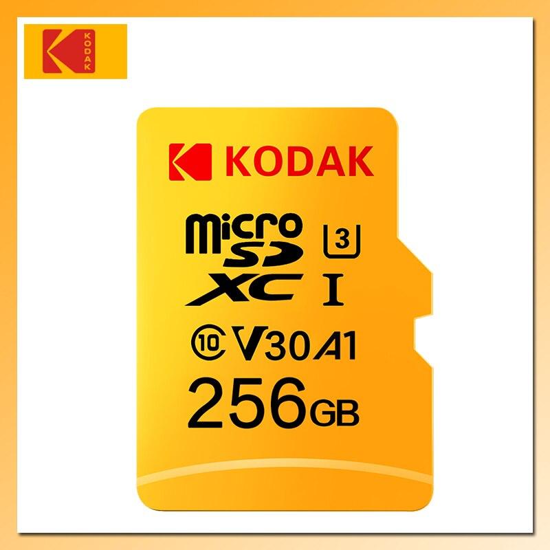 KODAK Карта памяти Micro SD 128 ГБ 256 ГБ 512 ГБ флеш карта 32 ГБ микро сд карта 64 ГБ U1 TF карта 4K Класс 10 флешка Micro SD U3 UHS-I 16 ГБ sd карта карты памяти microsd карт...