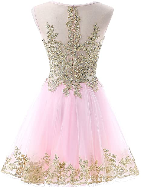 ANGELSBRIDEP-Short-Homecoming-Dresses-Vestidos-de-festa-Vintage-Gold-Applique-Crystal-Junior-Graduation-Formal-Party-Gowns (2)