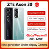 World Premiere Global Version ZTE Axon 30 5G Smartphone 6.92'' 120Hz Under-screen camera Snapdragon 870 65W Fast Charging Phone