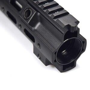 Image 3 - XPOWER HK416 Schiene Handschutz Airsoft Gun Paintball Zubehör M LOK MOD Für AR AEG CS Outdoor Taktische Sport Empfänger Getriebe