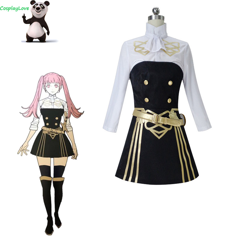 CosplayLove Fire Emblem: Three Houses Hilda Cosplay Costume Shoes Custom Made Women For Christmas Halloween