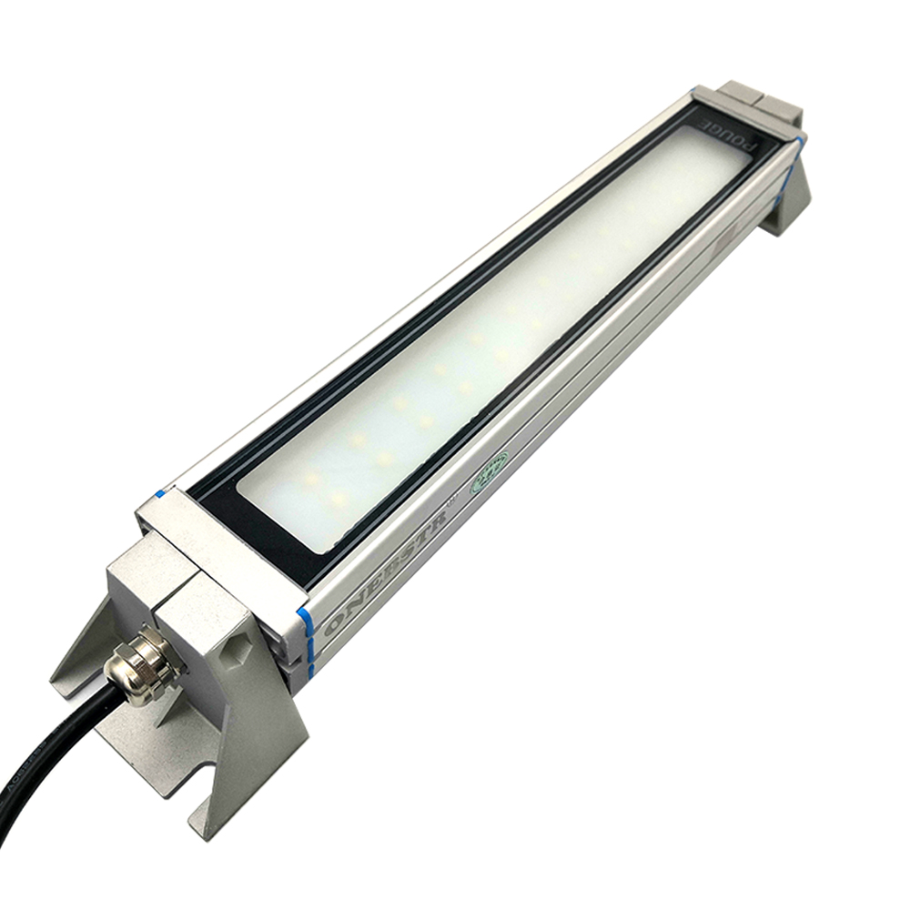 6W 24V/220V Led Panel Working Light CNC Machine Work Tool Lighting Tempered Frosted Glass Waterproof IP67 Free Shipping