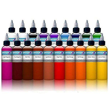 21 color tattoo machine ink pure plant tattoo paint set 30 ml eyebrows permanent tattoo body art painted color