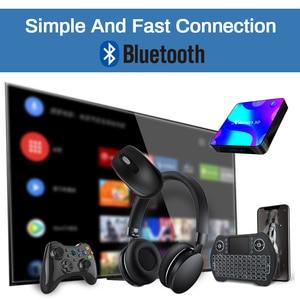 Image 3 - Android 11,0 caja de TV bluetooth 4k 3D 2,4G y 5,8G Wifi 4k 3D Youtube HDR + alta calidad muy rápido BOX 4GB 32GB 64GB 128G ROM