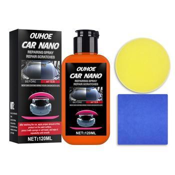Nano naprawa Spray zadrapanie samochodu usuwanie Spray naprawa Nano Spray naprawa zadrapania naprawa polski Spray powłoka ceramiczna samochodu tanie i dobre opinie vvcesidot CN (pochodzenie) 170g Auto Scaratch Repair 0 0inch Car Repair Spray Car Nano Repairing Spray 120ml Folia ochronna do malowania
