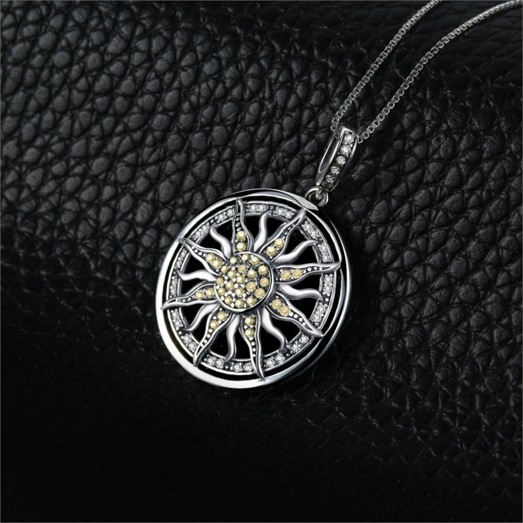 Statement Pendant Necklace Women Jewelry Without a Chain 1