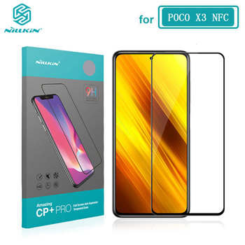 POCO X3 Glass Nillkin CP+Pro 2.5D Screen Protector Tempered Glass for Xiaomi Pocophone X2 F2 Pro X3 NFC Film