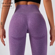 Женские Леггинсы для йоги спортивные штаны с высокой талией
