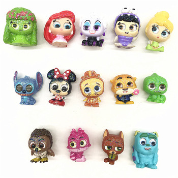 Sully Stitch Ariel Boo Nick Minnie Mouse Glitter Doll Doorables Series 1 & Series 2 Animation Figure Gifts Kids Toy цена 2017