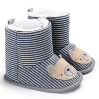 Classic baby fur boots toddler winter shoes mid-calf newborn snow cotton botas girls boys kuoma zapatos ni?a stivali bambina new