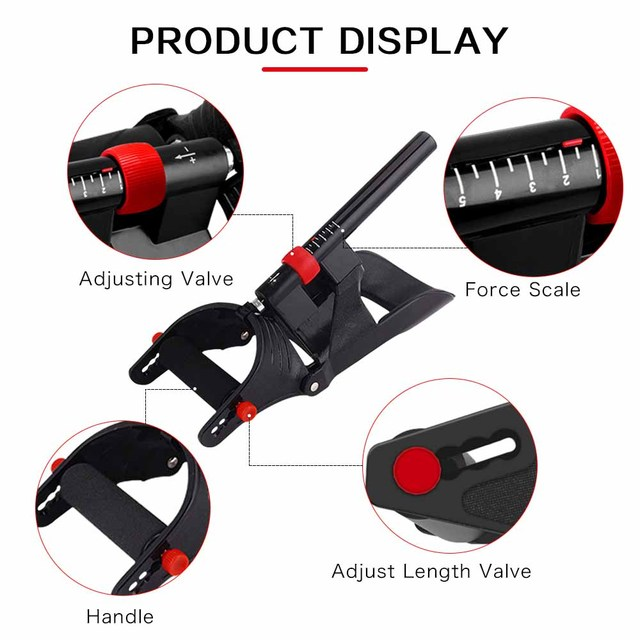 DMAR Adjustable Wrist Device Eco-friendly Engineering Forearm Hand Trainer for Arm Muscle Strength Gripper Exerciser Sport Home 2
