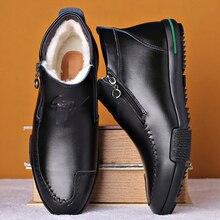 Monstceler artesanal pele de ovelha botas masculinas sola de borracha sapatos casuais marca de moda botas de tornozelo tênis m8536