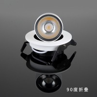 20Pcs Ingebed Dimbare Led Downlight Verzonken Plafond Lamp 5W 10W 12W 360 Graden Rotatie Spot Light downlight AC85-265V
