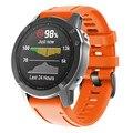 20 мм силиконовый ремешок для часов Garmin Fenix 6 S/6 S PRO 5S/5S plus Смарт-часы замена быстросъемные часы браслет на запястье