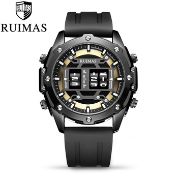 Ruimas Watches Rolling Silicone BK-1N3