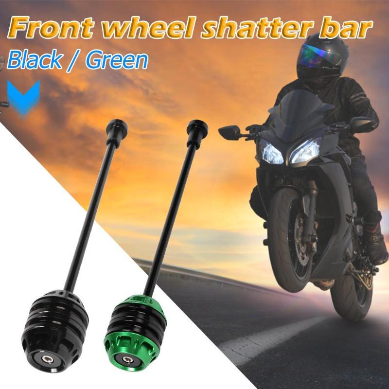 Protecteur de roue de moto Portable   Excellente Protection contre les chutes, alliage daluminium, procédé essieu arrière, fourchette, glisses de choc, excellente Protection contre les chutes, nouveau