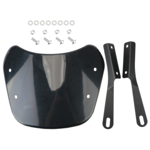 Image 5 - Accessori deflettore vento parabrezza moto 5 7 pollici per Suzuki Bandit Honda Hornet 600 Kawasaki Zephyr 750
