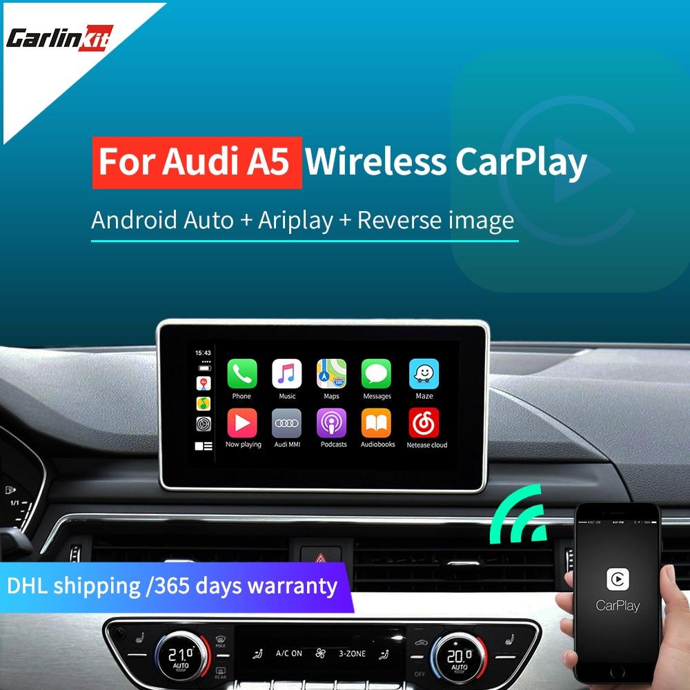 Carlinkit Wireless Apple CarPlay Android Auto for 2009-2018 Audi A5 S5 MMI 3G/3G+ MuItimedia Interface CarPlay & Android auto(China)