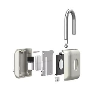 Image 2 - Youpin USB Rechargeable Smart Keyless Electronic Fingerprint Lock Home Anti theft Safety Security padlock Door Luggage Case lock