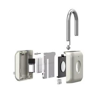 Image 2 - Youpin USB Rechargeable intelligent sans clé électronique serrure dempreintes digitales maison antivol sécurité cadenas serrure de fixation rétractable et mécanisme dattache de sécurité de porte