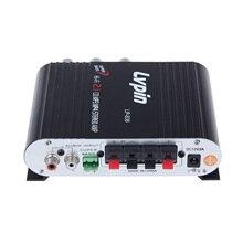 Yeni varış HIFI araba Stereo ses yüksek güç amplifikatörü süper bas fonksiyonu Subwoofer yüksek kaliteli FM radyo çalar