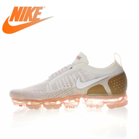 Original Authentic Nike Air VaporMax Moc 2 Men's Running Shoes Outdoor Sports Sneakers Designer 2018 New Arrival AH7006 400