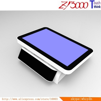 free shipping 12 inch pos terminals i3 CPU 8g 128G SSD multi touch screen all in one pos system