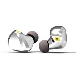 Image 2 - TRI I3 diaphragme plat + Composite 8MM pilote dynamique + Armature équilibrée pilote hybride dans loreille écouteur HIFI DJ métal écouteurs