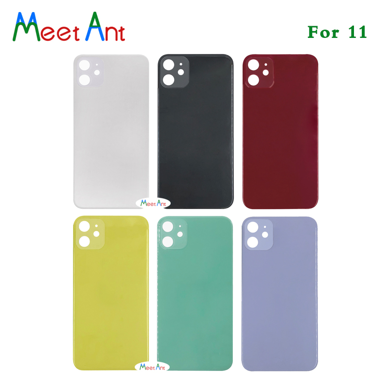 New High Quality Back Glass For Iphone 11 Pro Max Battery Cover Rear Door Back For 11 / 11Pro Housing Cover Glass