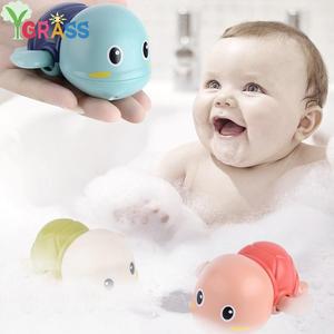 Bath-Toys Tortoise Clockwork Animal Swim-Turtle Baby Infant Kids Beach Chain Cute Cartoon