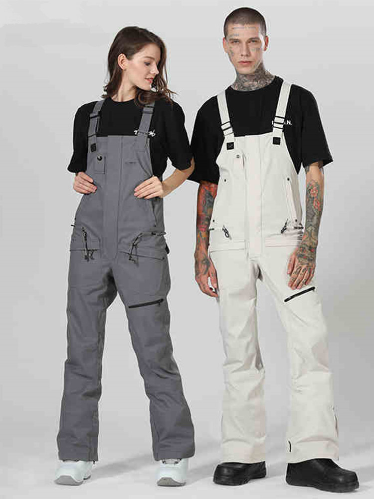 2019 High Experience Snowboard Pants Men Snow Pants Women Winter Pants Female Ski Overalls Snowboard Jumpsuit Skiing Trousers