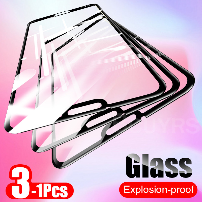 3-1Pcs Protective Tempered Glass On The Honor 9X 8X 8A 8S 20i 10i Screen Protector For Huawei Honor 9 10 20 Lite Pro Glass Film