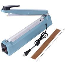 Wrapping Machines PFS-300I 270W Iron Housing Manual Sealing Machine 12in Heat Sealer