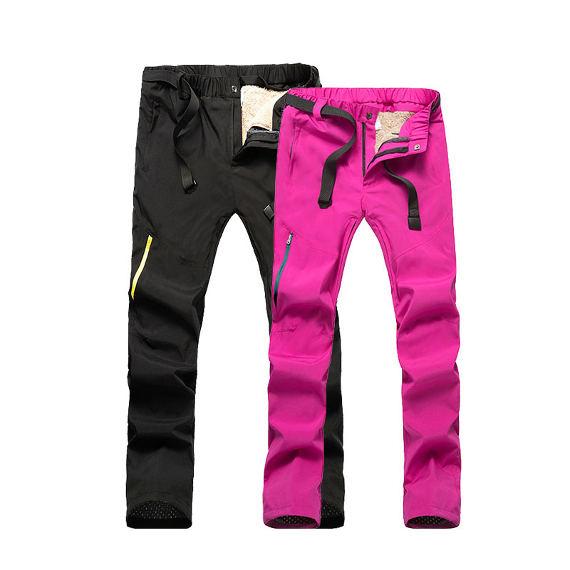 Ski Pants Men Women Winter Profession Skiing Snowboard Pants  Windproof Waterproof Snow Trousers Warm Breathable Outdoor Pants