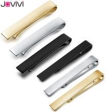 Jovivi-pince à pincer pour hommes, en acier inoxydable, pour cravates maigres, 1.6