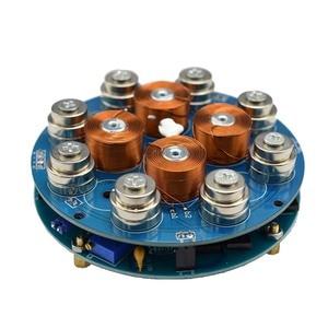 Image 4 - DIY magnetic levitation module Maglev Furnishing Articles DIY Kit Magnetic Suspension Digital Module with LED lamp weight 300g