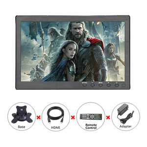 Image 5 - 10.1 inch 1366x768 Portable Monitor with VGA HDMI BNC USB input for PS3/PS4 XBOX360 Raspberry Pi Windows 7 8 10 System