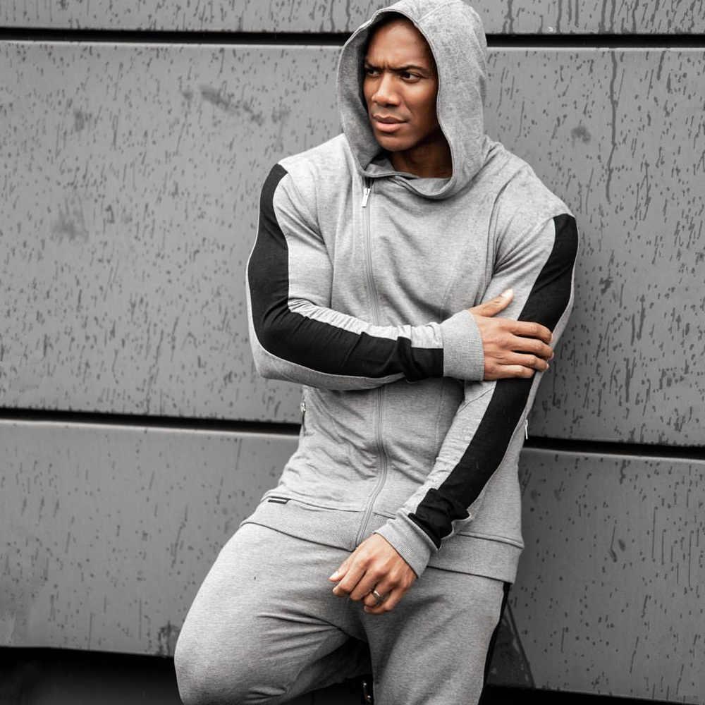 Men/'s Tracksuit Hoodies Bottoms Sets Fitness Training Jogging Suits  Sportswear