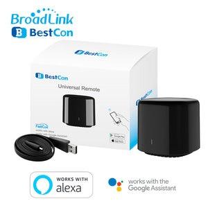 Image 5 - Broadlink Bestcon RM4C Mini télécommande universelle IR 4G WiFi IR fonctionne avec Alexa Google Assistant domotique intelligente